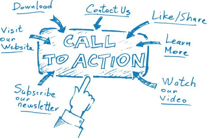 Como criar uma lista de e-mails Faça chamadas para ação