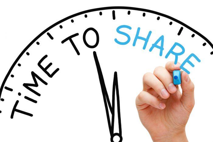 Métricas de marketing Quantidade de compartilhamento nas redes sociais