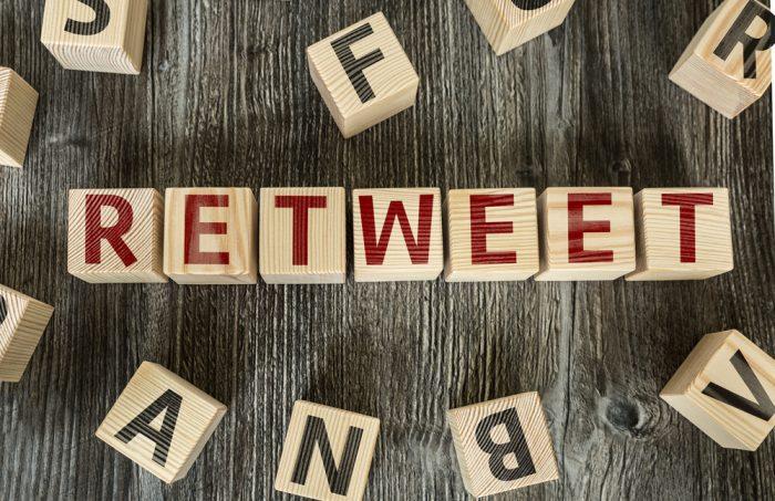Como conseguir seguidores no twitter Retuíte outras pessoas e marcas