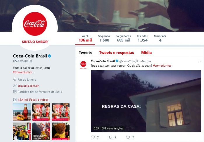 Como Conseguir Seguidores no Twitter Coca-Cola