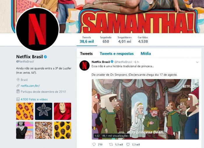 Como Conseguir Seguidores no Twitter Netflix