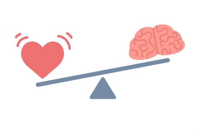 Como a decisão é associada à emoção?