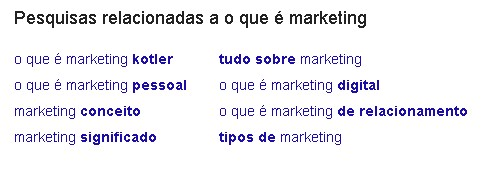 O que é semântica o que é marketing