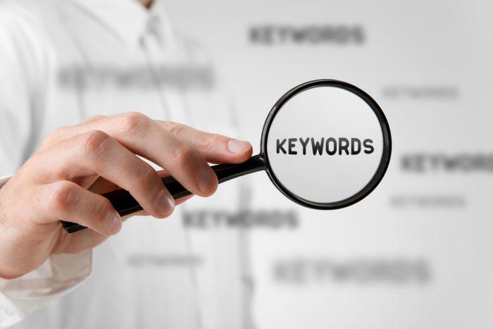 Como descobrir os termos que o usuário utiliza?