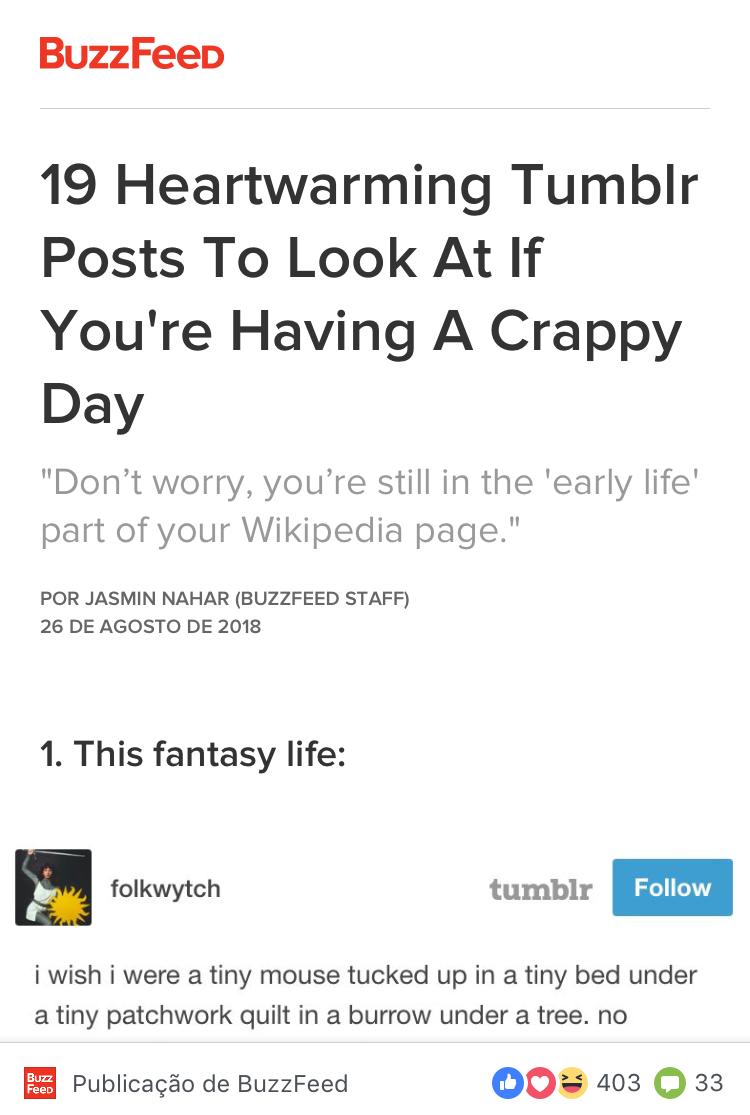 Instant Articles Buzzfeed Instantâneo