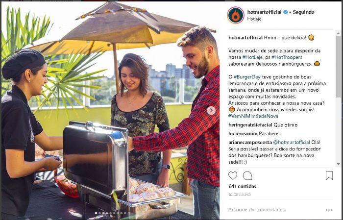 Imagens chamativas Instagram da Hotmart