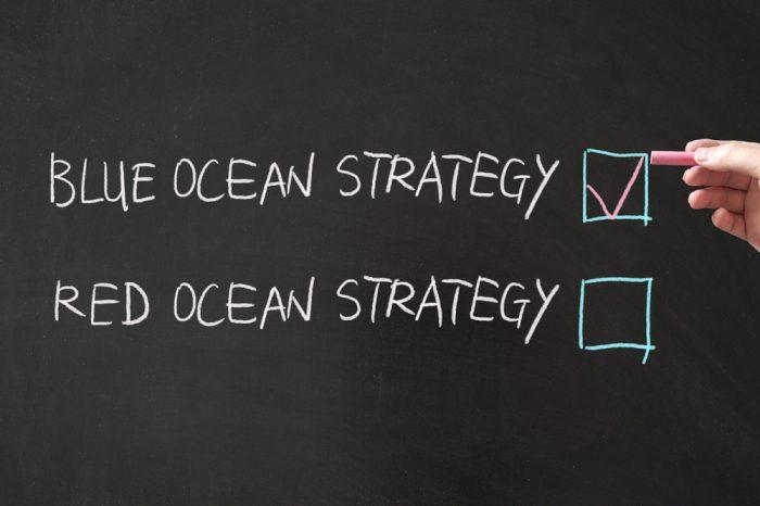 Os 4 passos da estratégia do Oceano Azul