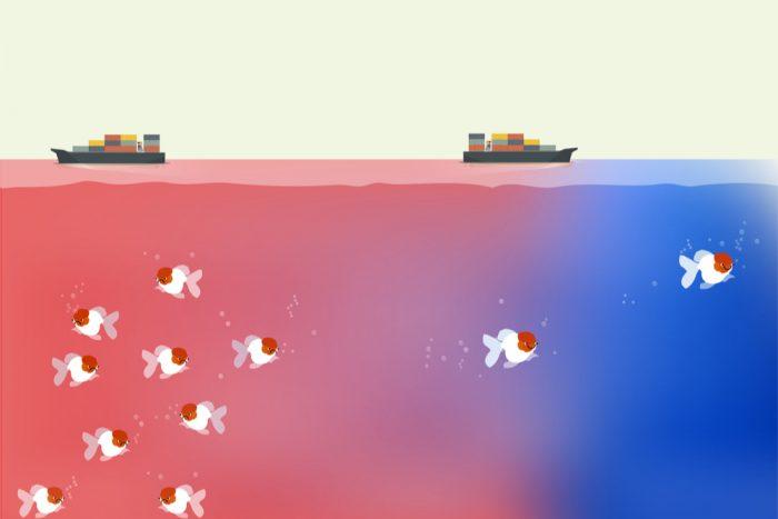 O que é a estratégia do Oceano Azul?
