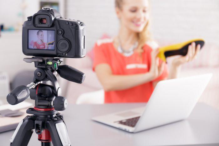 Gravar vídeos