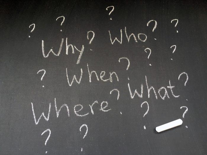 Responda a estas perguntas: Quem? O que? Como? Quando?
