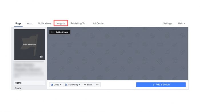 Como usar insights do facebook 1