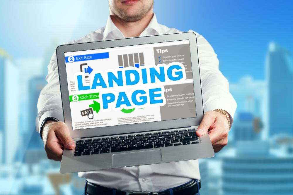 Criar landing pages mais otimizadas para ajudar na otimização de sites