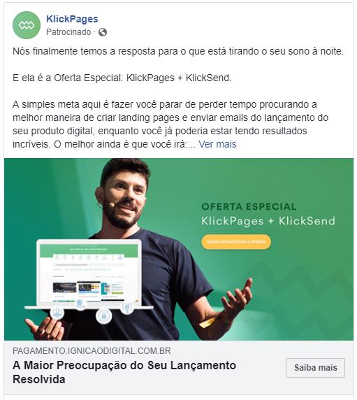 Mídia Paga anúncio redes sociais