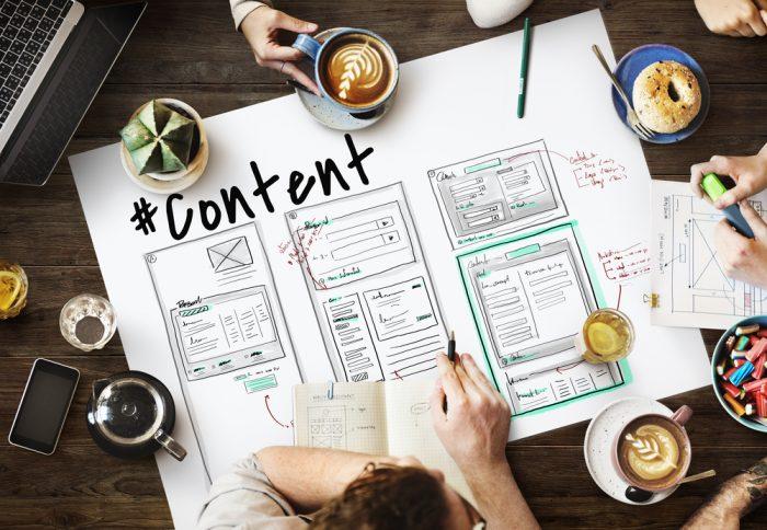 As 8 etapas da produção de conteúdo