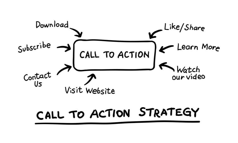 Tenha uma call to action