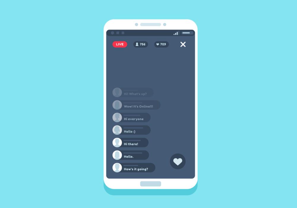 Quais são os recursos disponíveis nas lives do Instagram?