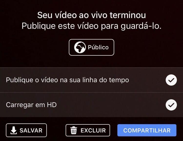 Passo 7 - Compartilhe o seu vídeo