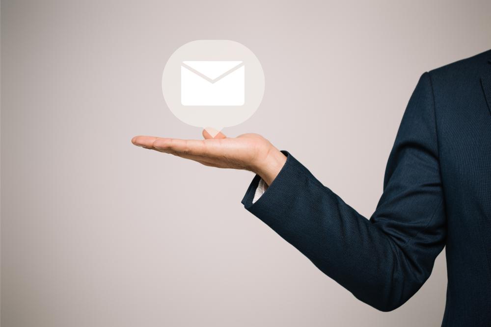 Modelo de email de apresentação