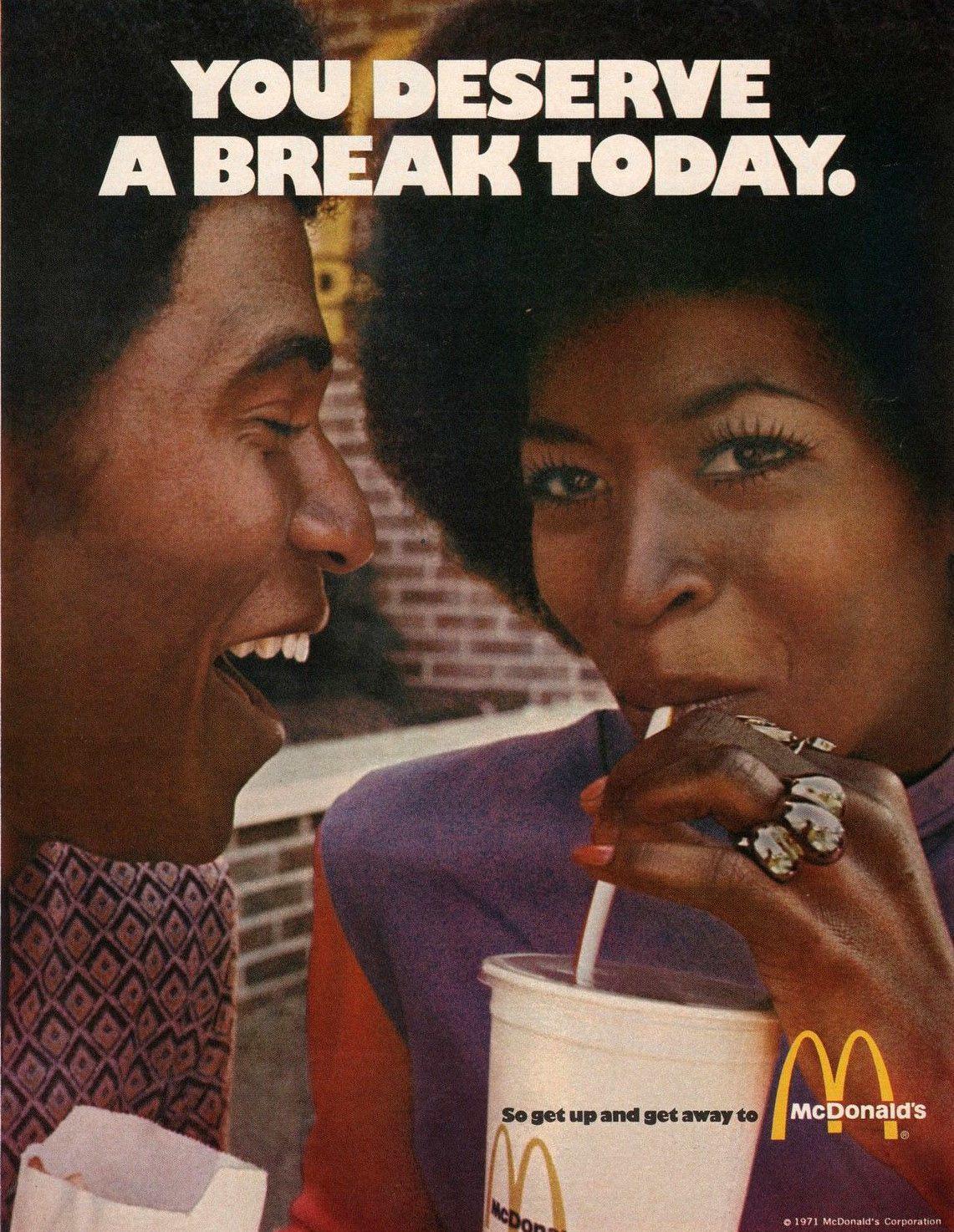Defina a mensagem que você quer passar you deserve a break today