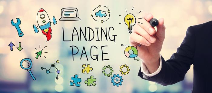 Divulgue seus slogans memoráveis em uma landing page