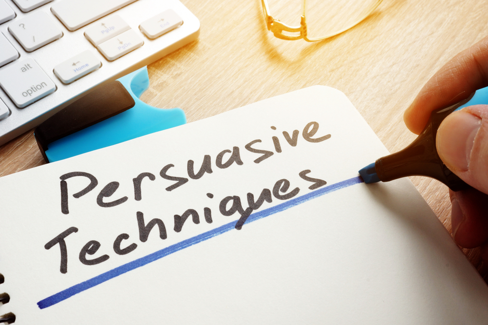 13 técnicas para aumentar seu poder de persuasão