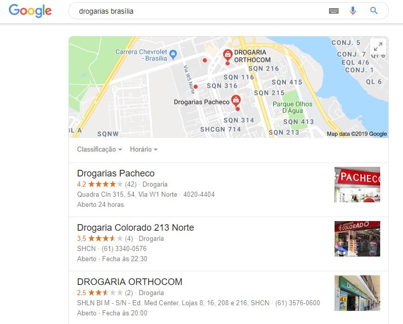 Onde posso divulgar meu trabalho? Google