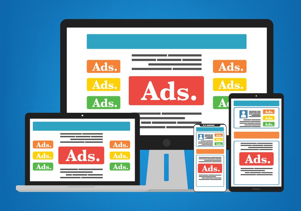 Como os anúncios serão exibidos no seu site?