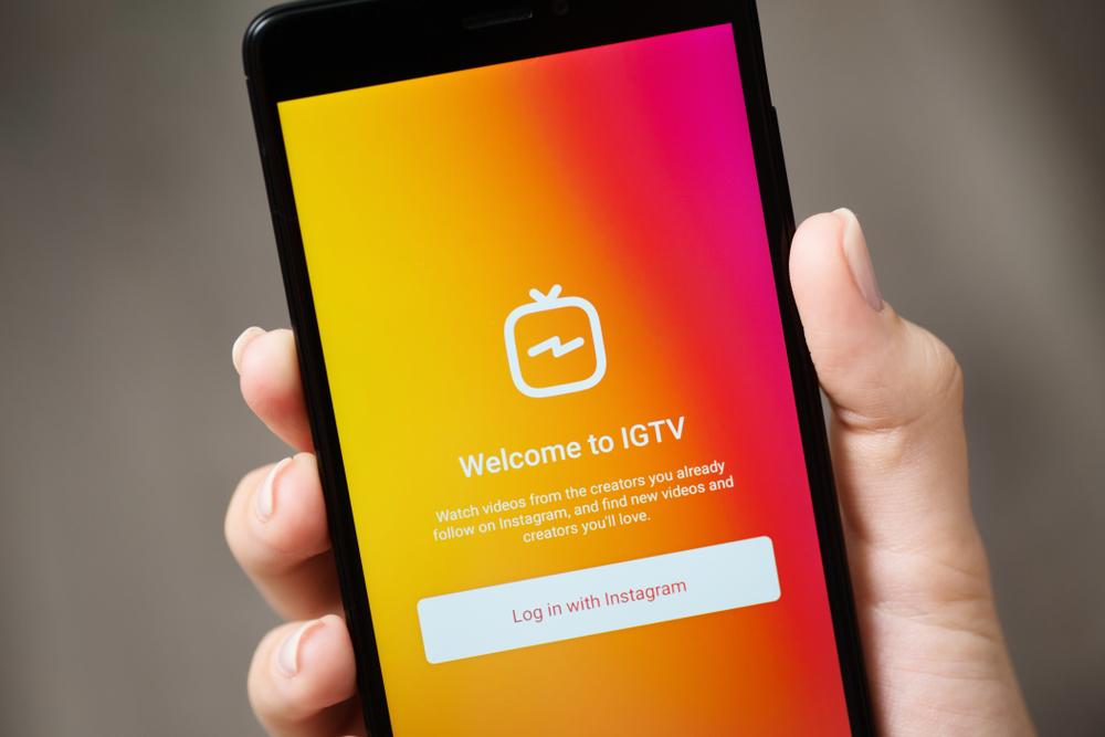 Use o IGTV