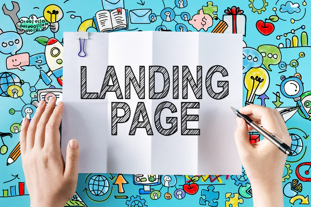 Tenha uma landing page