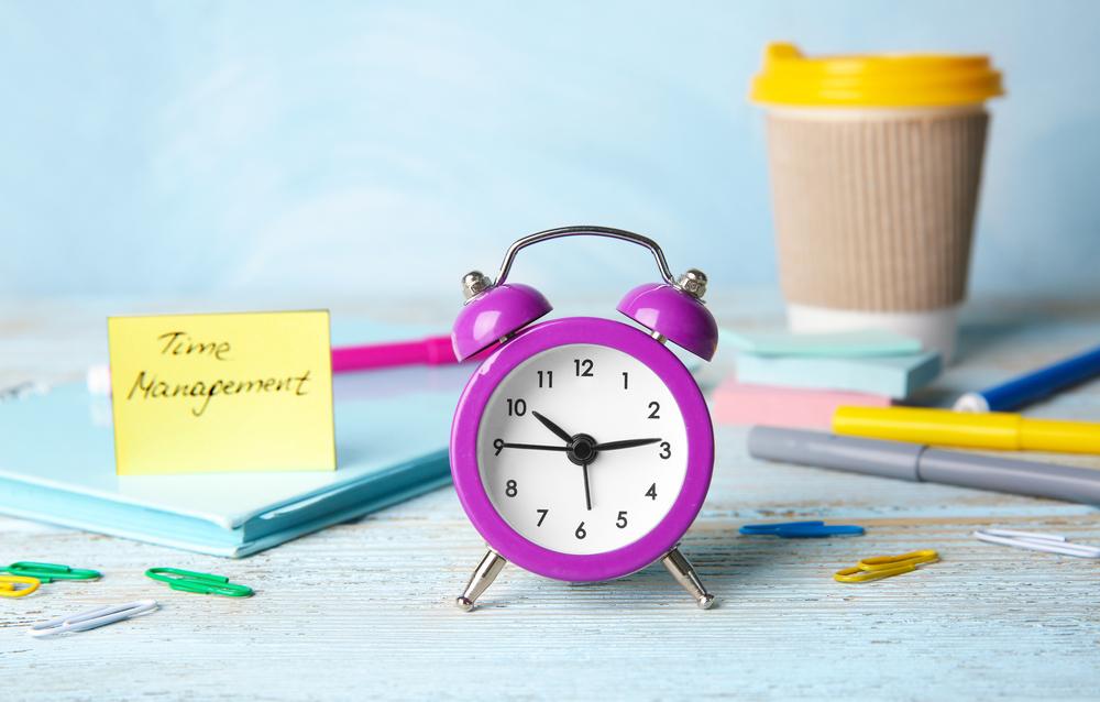 Implemente a gestão de tempo