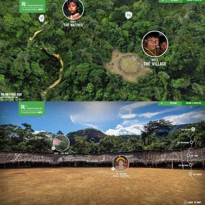 Save the Rainforest Conteúdo Interativo