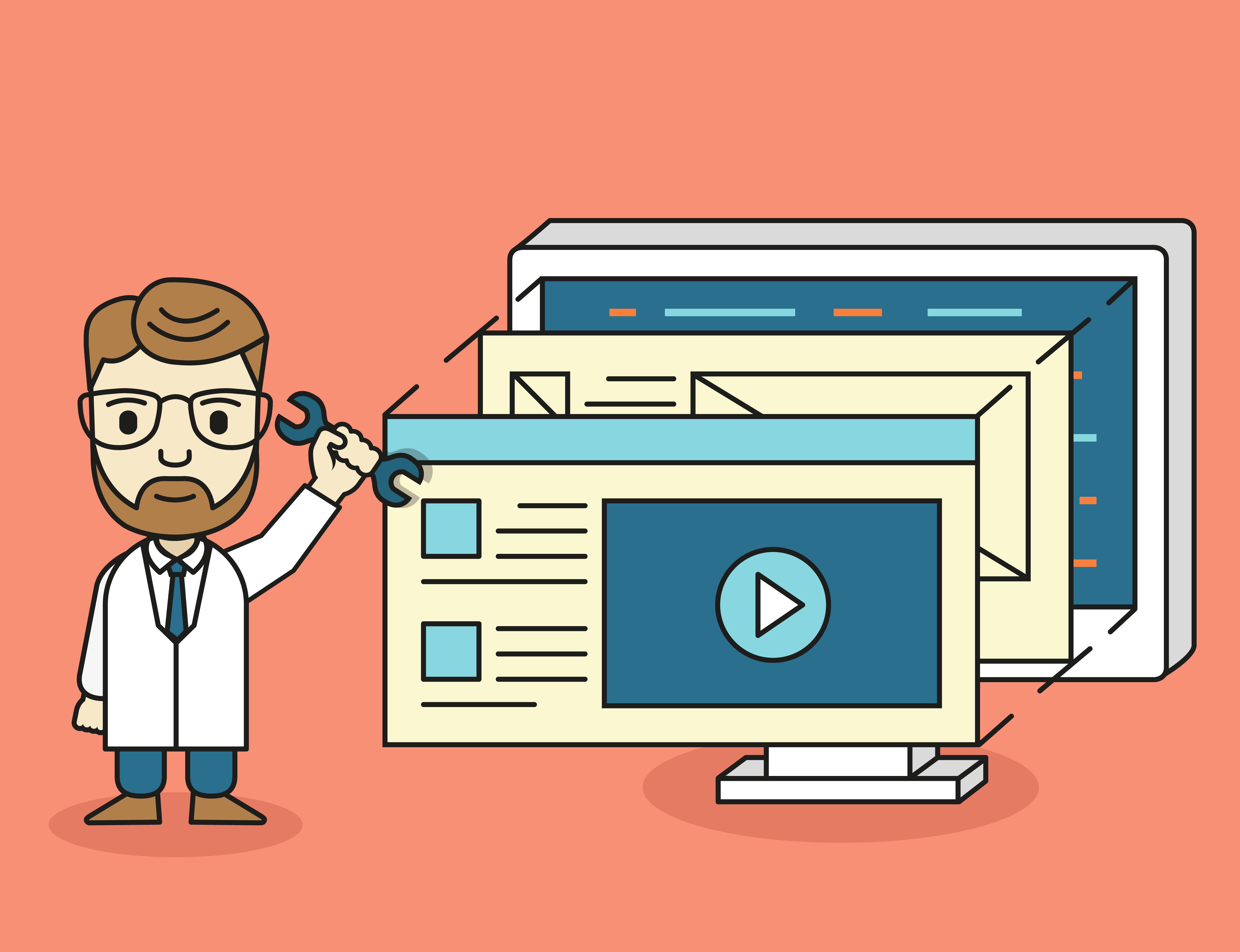 Conheça a forma mais simples de criar e customizar suas páginas na internet