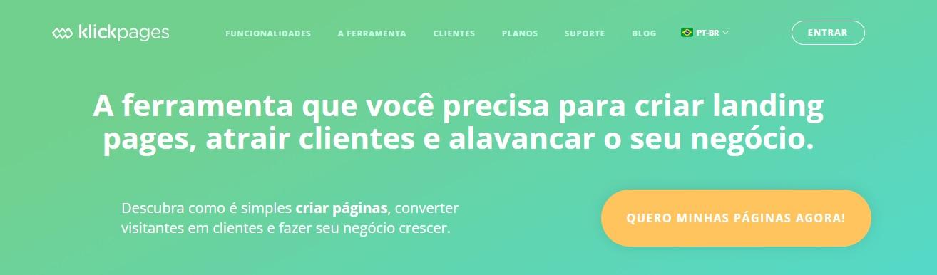 Como criar e customizar suas páginas no Klickpages?