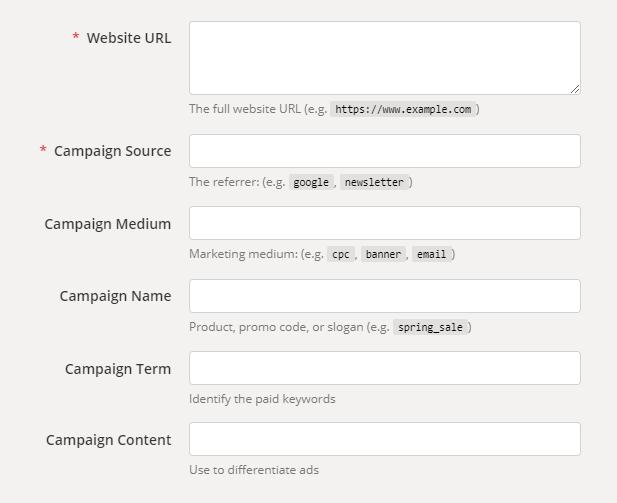 Como criar uma URL com parâmetros UTM?