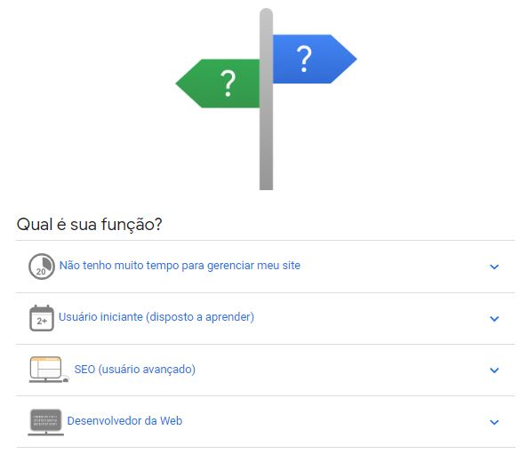 Para que serve o Google Search Console