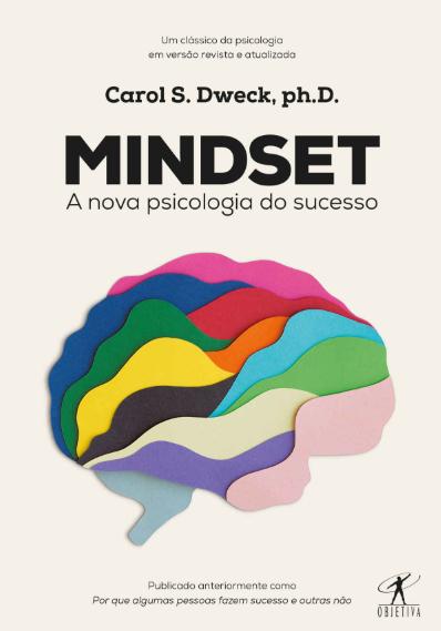 Capa do livro Mindset a nova psicologia do sucesso
