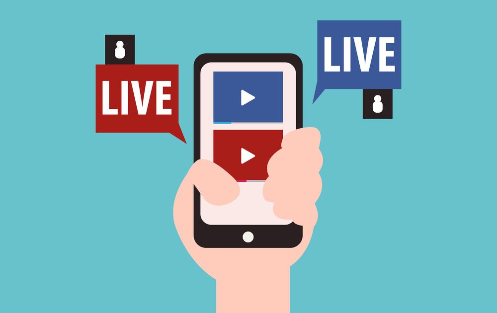 Live ou transmissão ao vivo
