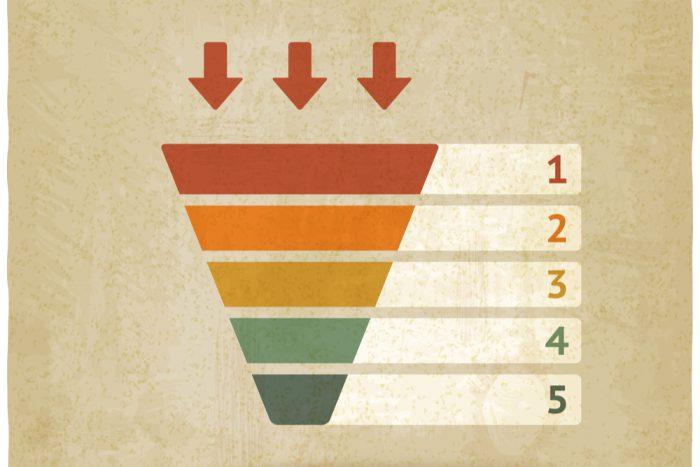 Etapas del embudo de ventas en el marketing digital