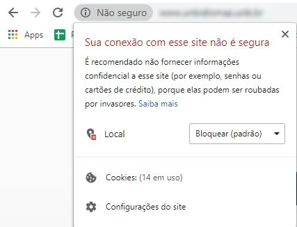 Como posso saber se um site tem SSL?