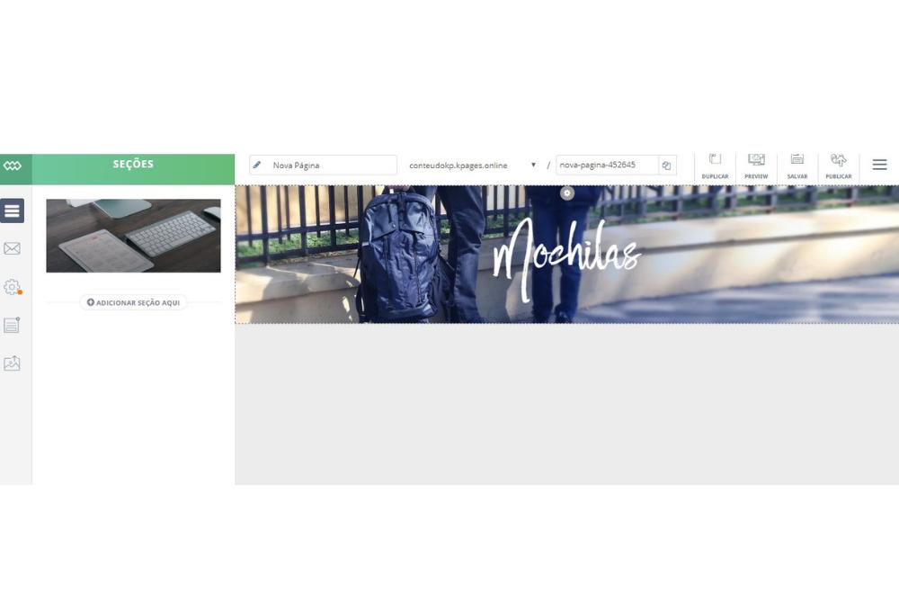 Como criar um site de vendas com o Klickpages