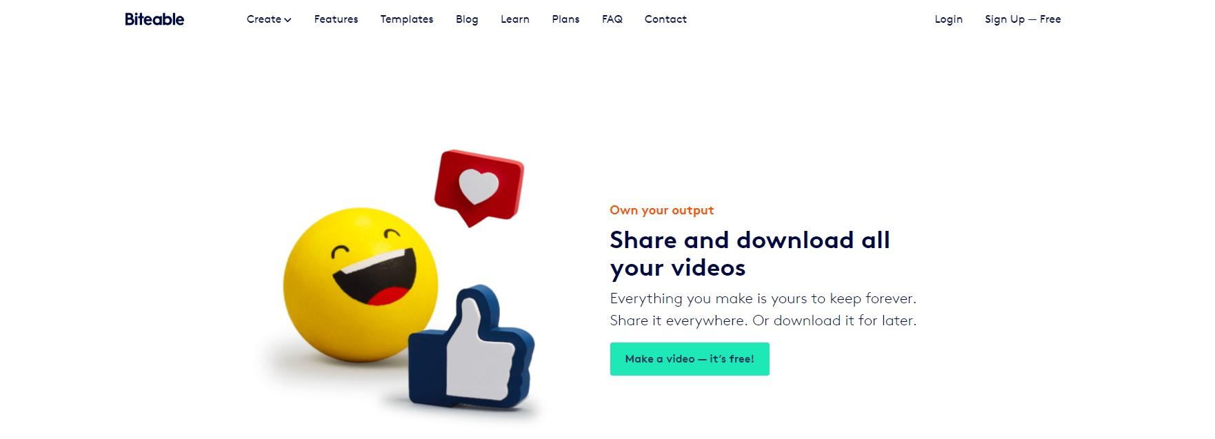 Como fazer vídeos animados com Biteable