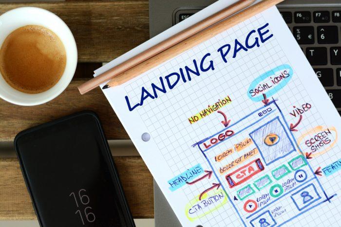 O que são landing pages?