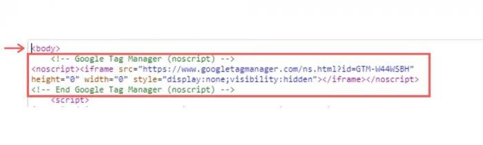 Instale o Gerenciador de Tags no seu site