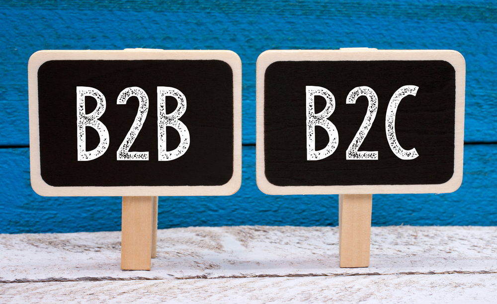 Diferença entre o marketing B2B e B2C