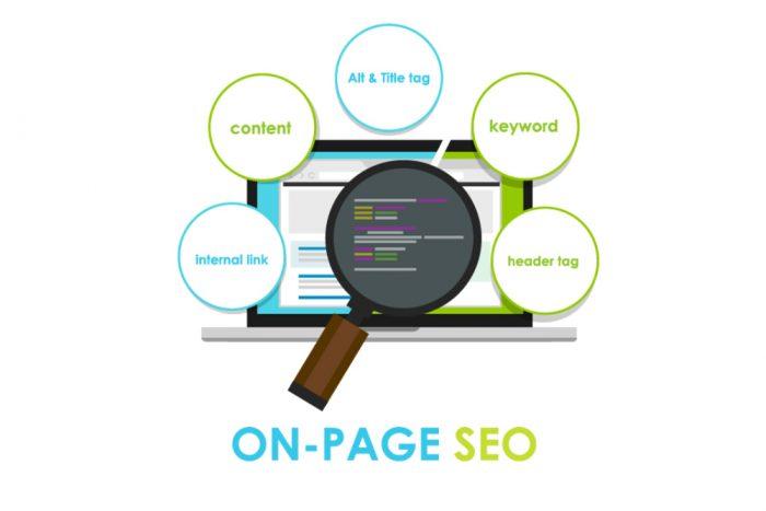 O que é SEO on page?