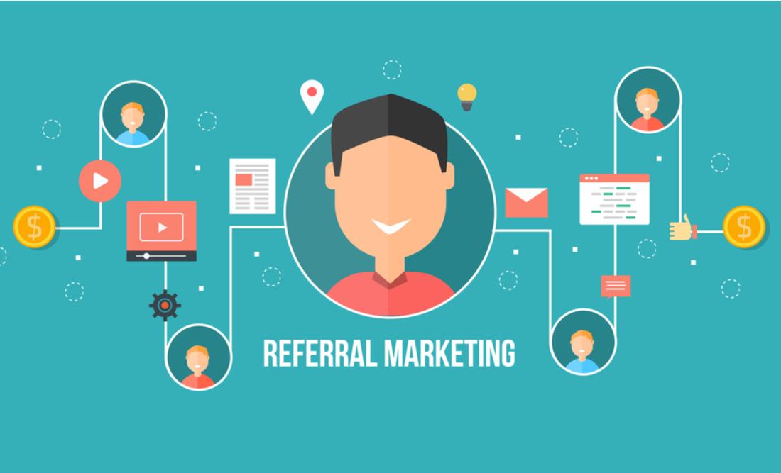 Quais são as etapas do marketing de referência