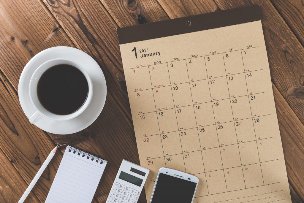 Definir um calendário de postagens