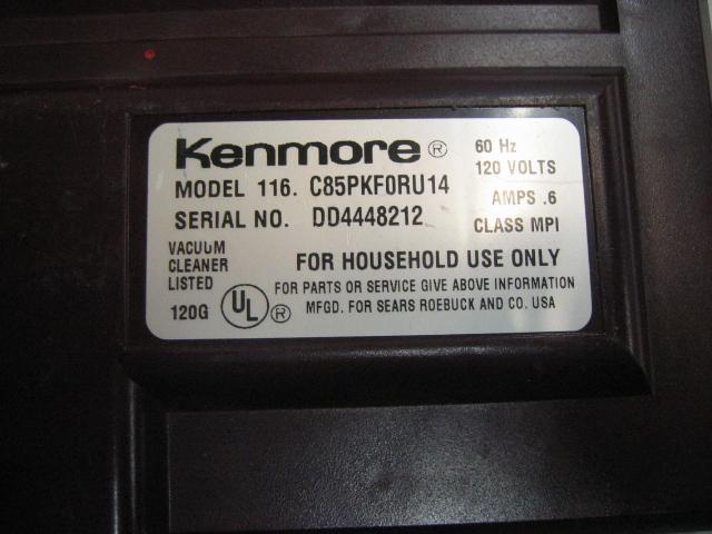 Kenmore 116 Bbt Com