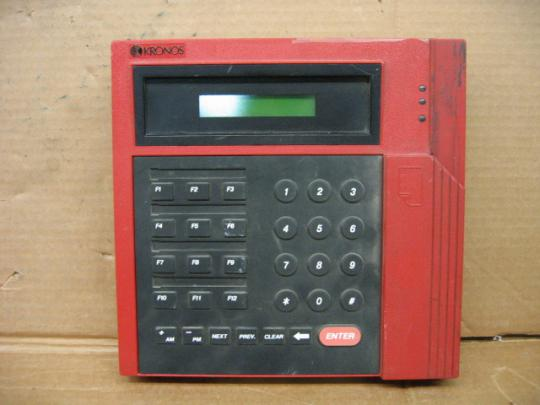 Kronos 480f Time Clock For Sale