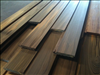Select Sinker Cypress Siding 1x6 with custom design.
